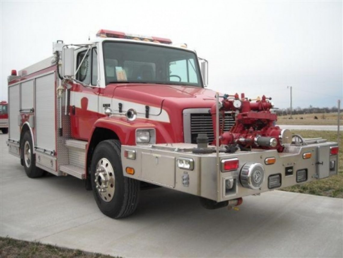 1995 Freightliner New Lexington Pumper