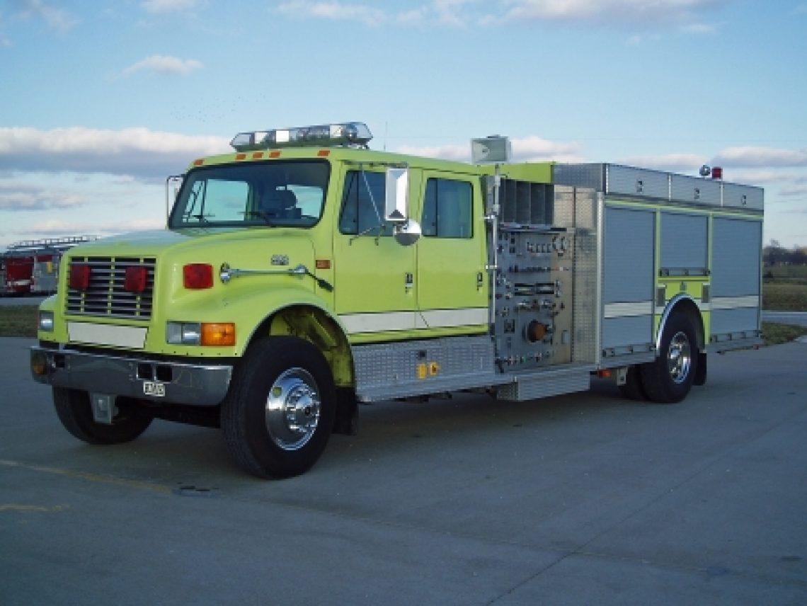 1997 IHC 4-Dr. KME Pumper