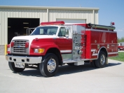 1995 Ford KME Pumper