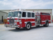 2002 E-One Cyclone Custom Pumper