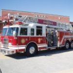 2001 Pierce Dash 105' Ladder