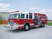 2001 Pierce Enforcer Custom Pumper