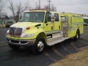 2010 IHC KME Legacy Top-Mount Pumper