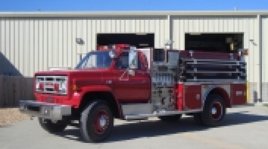1989 GMC Pumper