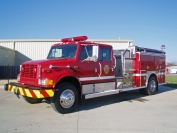 1994 IHC 4-Dr. E-One Pumper