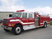 1998 IHC 4-Dr. E-One Pumper