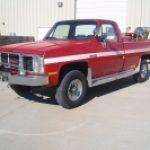1987 GMC Brush Truck