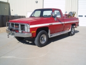 1987 GMC Brush Truck
