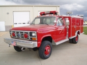 1986 Ford E-One Rescue