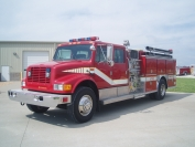 1992 IHC 4-Dr. E-One Pumper
