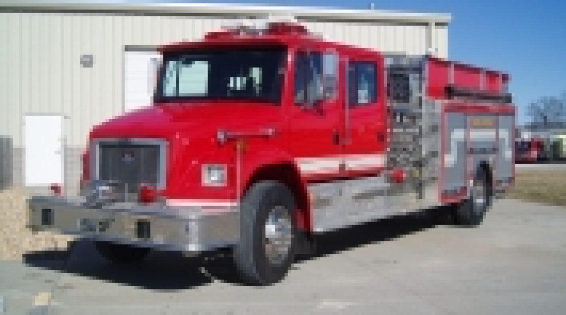 2001 Freightliner Rescue - Pumper
