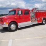 1993 IHC 4900 4-Dr. CAFS Pumper