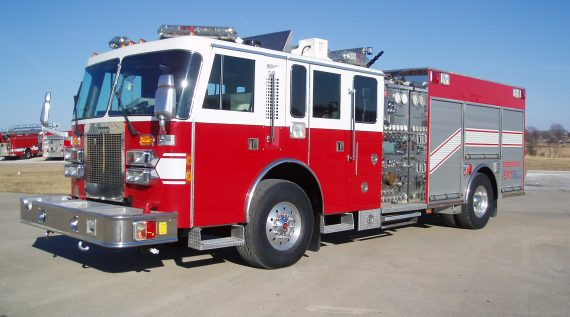 Saulsbury Custom Rescue Pumper