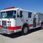 2000 Pierce Saber 4-door custom pumper truck