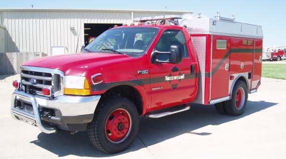 4465 -Used Brush Truck