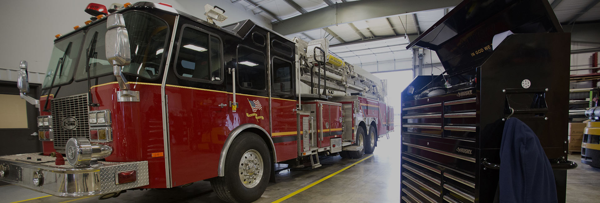 fire truck repair shop